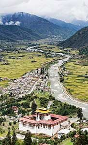 Paro is a historic town with many sacred site and historical monuments in Bhutan