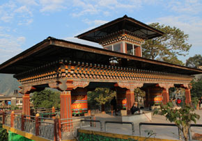 Phuntsholing is known as the gateway towards Bhutan.