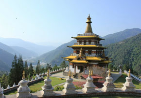Punakha is the former capital of the scenically blessed kingdom Bhutan