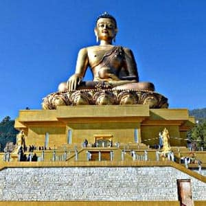 Thimphu, the capital city of Bhutan