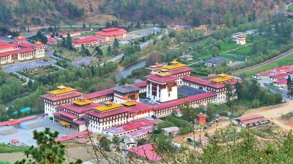 Bhutan Tour Plan for 4Nights and 5Days, Day2: Transfer To Thimphu