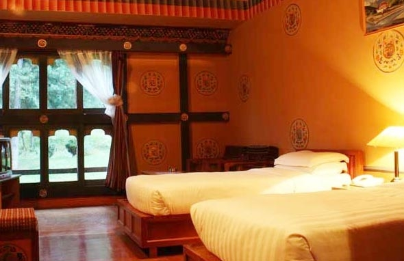 Double Standard Room at Hotel Olathang, Paro, Bhutan